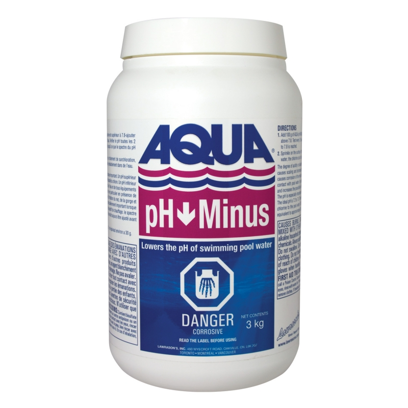 Lawrason 39 s inc pool and spa products aqua ph minus 3 kg - Swimming pool equipment philippines ...