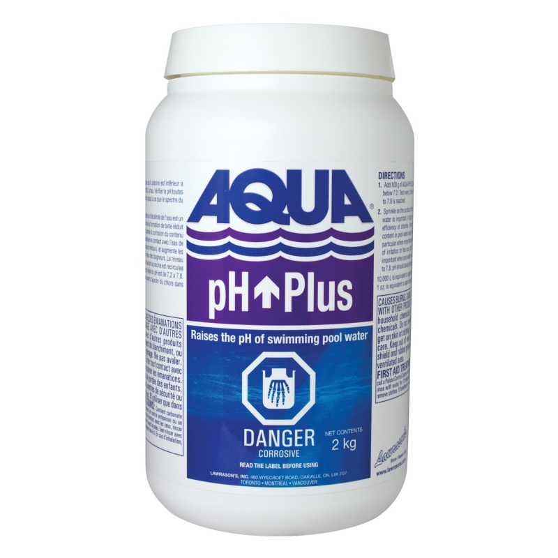 Lawrason 39 s inc pool and spa products aqua ph plus 2 kg - Swimming pool equipment philippines ...